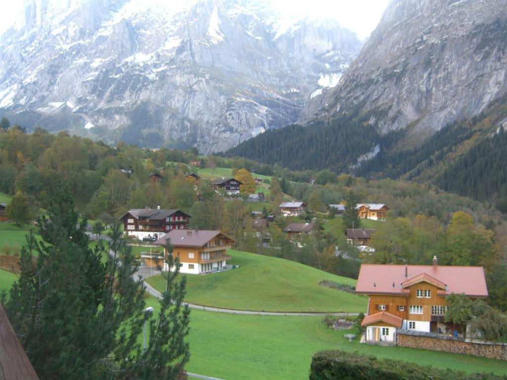 Sommer: Ostsicht Wetterhorn / oberer Gletscher (2)