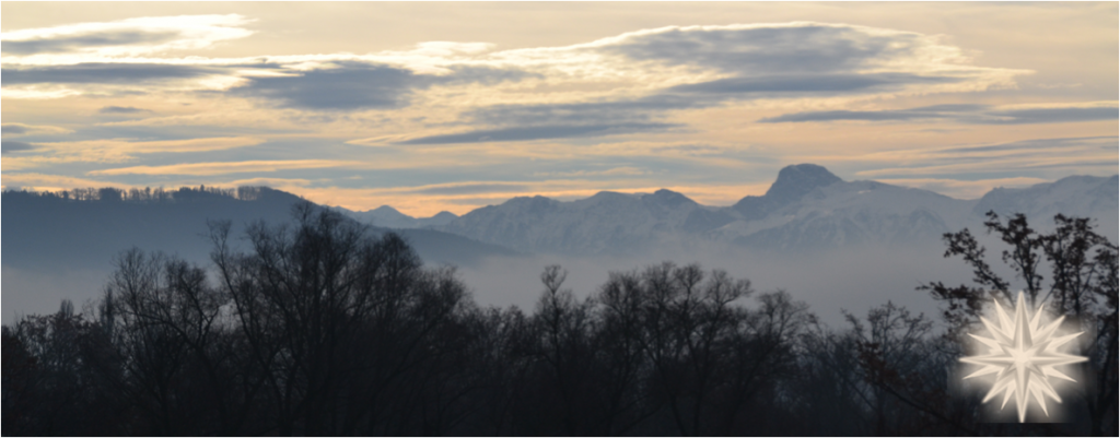 Winter View on the Stockhorn - Bernese Alps
