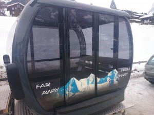 Destination Top of Europe: New Gondola with 27 Seats