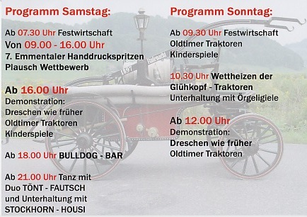 Drescherfest 2014 in Rufenacht