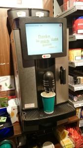 Die früheren Kiosk Kaffeemaschinen boten guten Kaffee zu einem einigermassen akzeptablen Preis